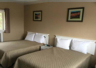 Double Bed Motel Room Rental Parrsborro 2
