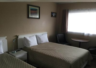 Double Bed Motel Room Rental Parrsborro 3