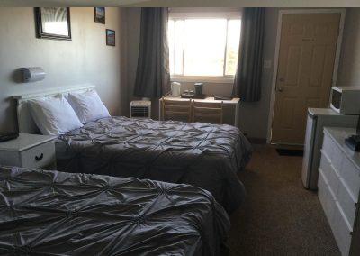 Motel Room Queen Beds 2