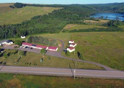aerial view of The Sunshine Inn NS